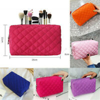 Portable Travel Cosmetic Makeup Zipper Bag Toiletry Case Pouch Organizer Storage