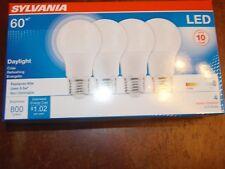 (1) 4 Pack SYLVANIA  L E D 8.5 Watt  ( 60 WATTS OF LIGHT)  FREE SHIPPING