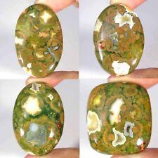 Natural Rhyolite Opal Oval Pear Cushion Cabochon Loose Gemstone