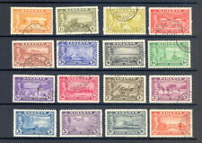 BAHAMAS SG 178-93 GVI 1948 ELEUTHERA SET OF 16.  FINE USED