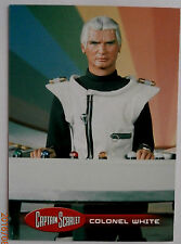 CAPTAIN SCARLET - Individual Trading Card #38, Colonel White - Unstoppable Cards