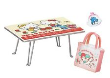Re-Ment Miniature Sanrio Hello Kitty items in girl's room Set # 2 Table