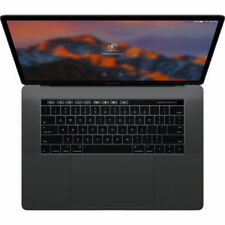 Apple Space Gray MacBook Pro 15 inch 1TB 16GB 2.9GHz Touch Bar LOADED / MINT