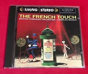 CD RCA VICTOR LIVING STEREO BOSTON SYMPHONY ORCHESTRA CHARLES MUNCH FRENCH TOUCH