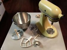 New ListingVintage Hobart Kitchen Aid K45 Tilt Head Stand Mixer-Bown and Acc Works great!