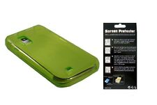 Screen Protector + EP Grn TPU Cover Case for Samsung Galaxy S Showcase SCH-i500