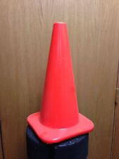 """18"""" Orange Safety Traffic Cones 15/Pkg, Wide Body Perfect For Soccer"""