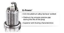 NGK G Power Platinum LFR5AGP 5018 to fit Peugeot 2.0L 206 GTI , 206, 307,406,407