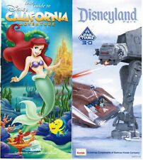 2012 w//schedule Disneyland//CA Adventure Guides April 20-26