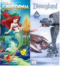 Disneyland/CA Adventure Guides June 17-23, 2011 w/schedule