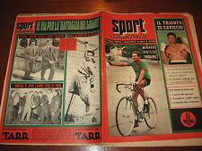 LO SPORT ILLUSTRATO GAZZETTA 1955/26 FOTO BIANCHI COPPI WELTER GOLF CAVICCHI