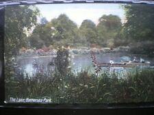 POSTCARD LONDON THE LAKE AT BATTERSEA PARK