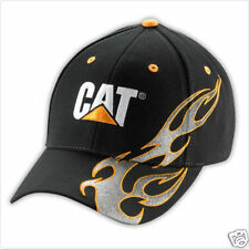CAT SILVER FLAME CAP HAT BRAND NEW STYLE!