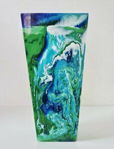 Sobral Objectos Poeticos Multi Color Large Vase Blue Gorky Brazil Import