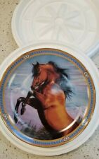 Horse Danbury Mint Collector Plate On the Range Mountain Majesty by Susie Morton