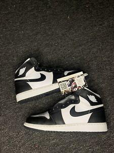 Nike Air Jordan 1 Retro High OG Black White 2014 Size 7Y Used OG None