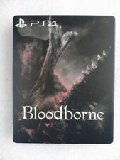 Video Game BloodBorne custom Iron disc box case steelbook for PS4 Xbox disk