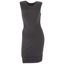 Women's Marc NY Andrew Marc Sleeveless Fitted Sheath Dress Black XS #NJL59-M161