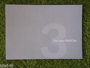BMW 3er (Baureihe E90) Händlermappe / Dealers presentation kit, D