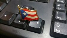 Puerto Rico badge Country Flag Lapel Hat Cap Tie Pin Badge  --20mm*15mm.