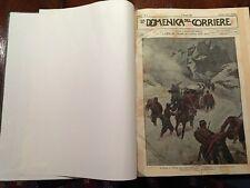 1899 DOMENICA DEL CORRIERE ANNATA COMPLETA CONDIZIONI FANTASTICHE  Idea x Natale