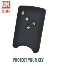 Black Silicone Flip Key Cover Fob For Renault Laguna Symbol Scenic Clio /-cj1-/