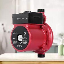 """100W 3/4"""" RS15-9G Water Circulating Circulation Pump Hot Red Recirculating"""