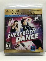 Everybody Dance (Sony PlayStation 3, 2011) New Factory Sealed - Free Ship
