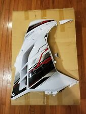 2014 KAWASAKI NINJA 300 ABS RIGHT LOWER COWLING WHITE PN#55056-5358-25Y OEM