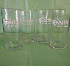 Vintage Frostie Root Beer Glasses