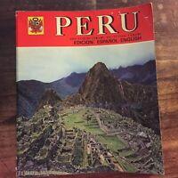 Peru'. Edicion: Espanol - English - Mauricio Wiesenthal
