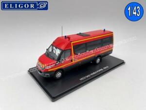 Iveco Daily Minibus POMPIER SDIS 62 ELIGOR - EL 116777 - Echelle 1/43
