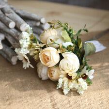 5pc Artificial Chrysanthemu Bouquet Silk Fake Flowers Wedding Party Home Decora