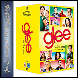 GLEE - COMPLETE SERIES - SEASONS 1 2 3 4 5 & 6 ***BRAND NEW DVD BOXSET***