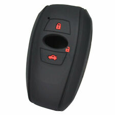 3 Button Silicone Remote Key Case Cover For Subaru Legacy XV Brz Wrx Levorg