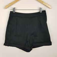 Princess Highway Shorts Size 8 Black High Rise