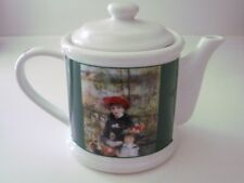 RENOIR - COPCO - ART INSTITUTE OF CHICGO  tea pot TWO SISTERS