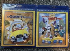 A Goofy Movie & An Extremely Goofy Movie Blu-Ray Disney MovieClub Exclusive RARE