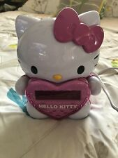 Hello Kitty Clock with Alarm/Radio (AM/FM) LED Projector Projection