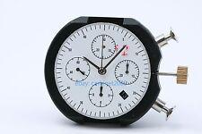 Clone 7753 automatic BLACK date H4.5 chronograph movement ETA Valjoux replacemet