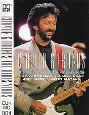 ERIC CLAPTON & FRIENDS BLUES YEARS CASSETTE ALBUM JIMMY PAGE JEFF BECK MAYALL