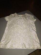 Gorgeous John Lewis girls silver party top age 3 years