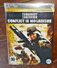Terrorist Takedown: Conflict in Mogadishu (PC CD-ROM, 2005) Free Shipping!