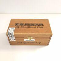 Vintage Cojimar by Don Rene de Cuba Wood Cigar Box Humidor Dominican Republic