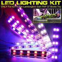 LED Light Lighting Kit Fit For LEGO 42115 For Lamborghini Sian FKP 37 Car