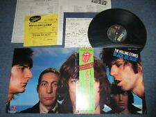 ROLLING STONES Japan 1978? REISSUE ESS-63005 NM LP+Obi+Flyer BLACK and BLUE
