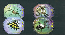 Papua New Guinea 2010 MNH Spiders 4v Set Insects Stamps