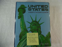 United States Liberty Stamp Album 2639 Stamps Many Complete Pages 1001A