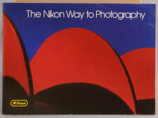NIKON BROCHURE THE NIKON WAY TO PHOTOGRAPHY Excellent condition