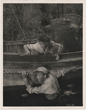 LA REINE AFRICAINE African Queen HUMPHREY BOGART Hepburn Original Photo 1951
